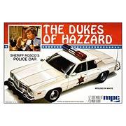 Dukes of Hazzard Roscoes Dodge Monaco Police Car Model Kit