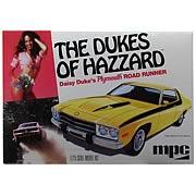 Dukes of Hazzard Daisy Duke Plymouth Road Runner Model Kit