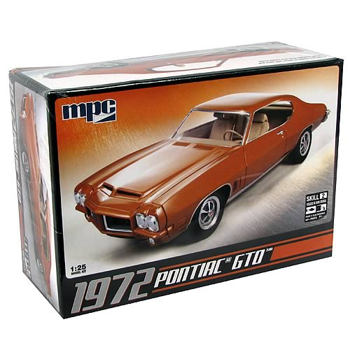 Pontiac 1972 GTO Model Kit