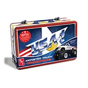 USA-1 Monster Truck 1:25 Scale Model Kit Special Edition Tin