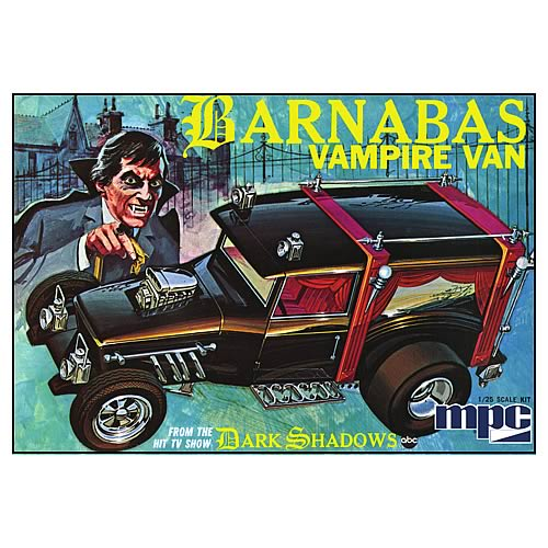 Dark Shadows Vampire Van Model Kit