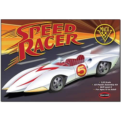 Speed Racer Glue Together Model Kit