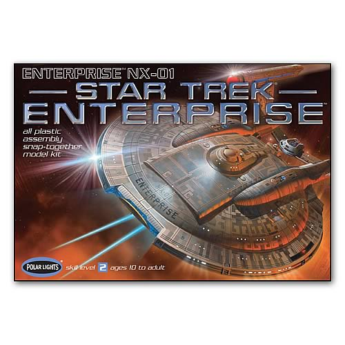 Star Trek Enterprise NX-01 1:1000 Scale Model Kit