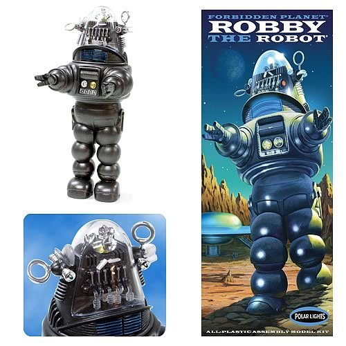 Forbidden Planet Robby the Robot Model Kit