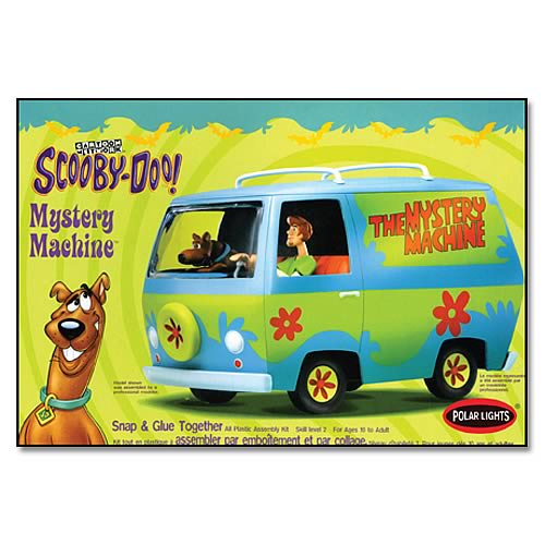 Scooby-Doo Mystery Machine Model Kit