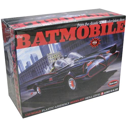 Batman Batmobile 1:25 Scale Glue Model Kit