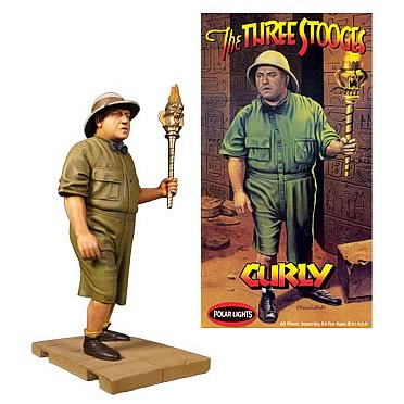 Three Stooges Curly Model Kit