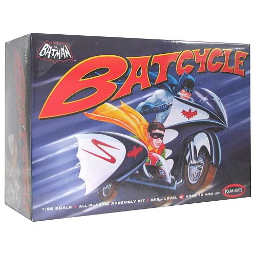 Batman 1966 TV Batcycle Model Kit
