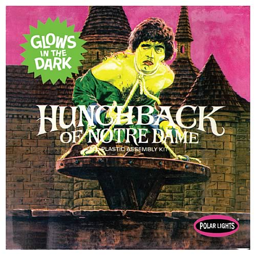 Hunchback of Notre Dame Model Kit