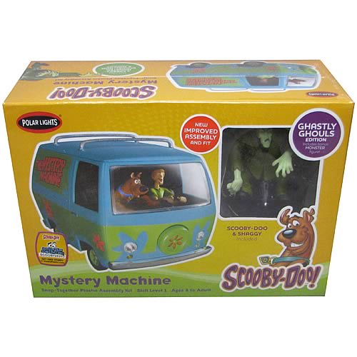 Scooby-Doo Mystery Machine with Figures Model Kit