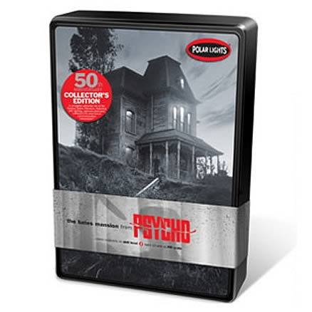 Psycho House Bates Mansion 50th Anniversary Model Kit in Tin