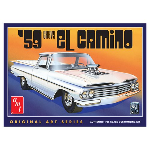 1959 Chevy El Camino 1:25 Scale Model Kit