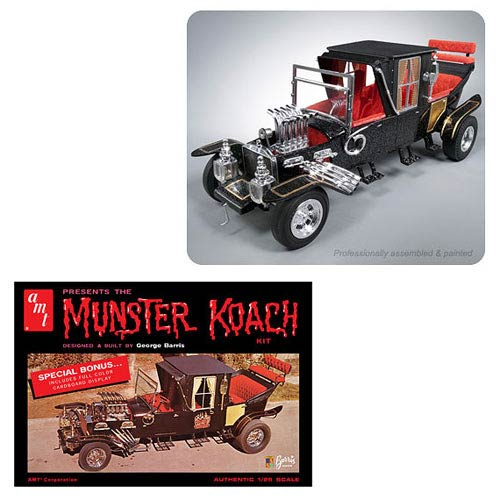 Munsters Koach Vehicle 1:25 Scale Model Kit
