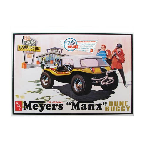 Meyers Manx Dune Buggy 1:25 Scale Model Kit