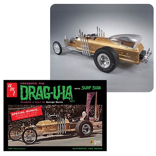 Munsters Drag-U-La Vehicle 1:25 Scale Model Kit