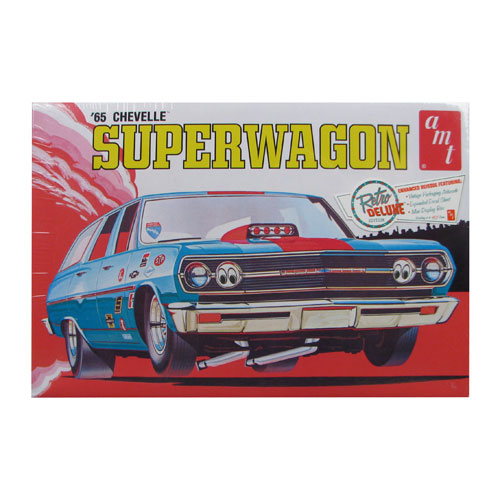 Chevelle 1965 Superwagon 1:25 Scale Model Kit