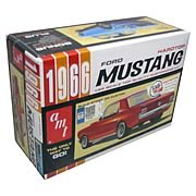 1966 Ford Mustang Hardtop 1:25 Scale Model Car Kit