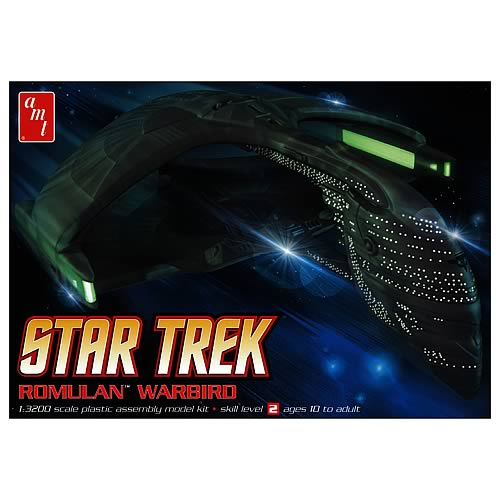 Star Trek Romulan Warbird 1:3200 Scale Model Kit