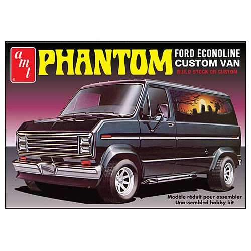 1976 Phantom Ford Econoline Van Model Kit