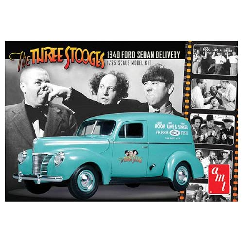 The Three Stooges 1940 Ford Sedan Delivery 1:25 Model Kit
