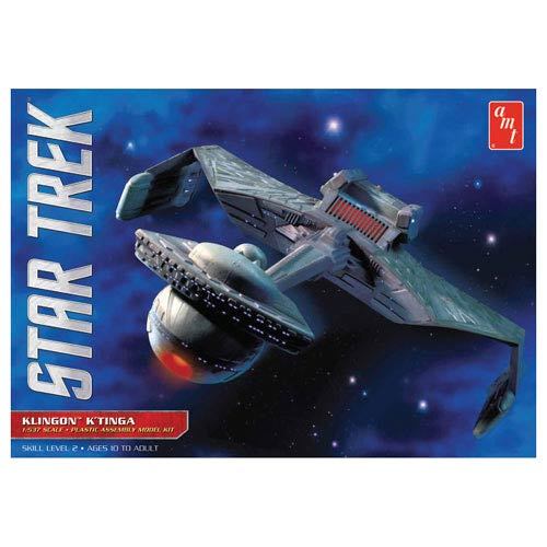 Star Trek The Motion Picture Klingon K'tinga 1:537 Model Kit