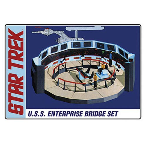Star Trek Enterprise Bridge Set 1:32 Scale Model Kit