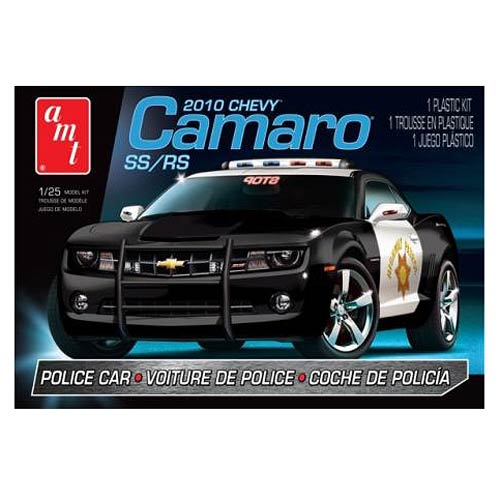 Chevy Camaro SS/RS 2010 Police Car 1:25 Scale Model Kit