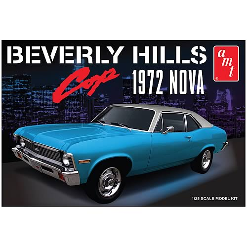 Beverly Hills Cop 1972 Chevy Nova 1:25 Scale Model Kit