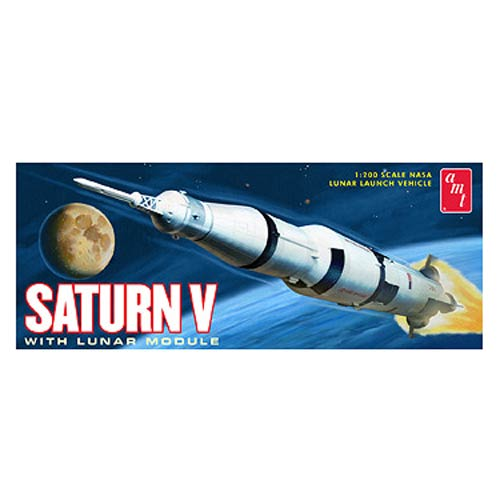 Saturn V Rocket with Lunar Module 1:200 Model Kit
