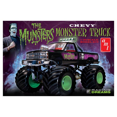 The Munsters Chevy Munster Truck 1:25 Scale Model Kit