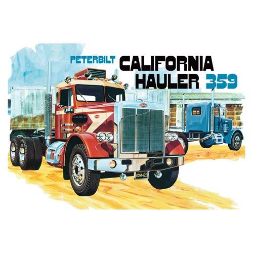Peterbilt 359 California Hauler Semi-Truck 1:25 Model Kit
