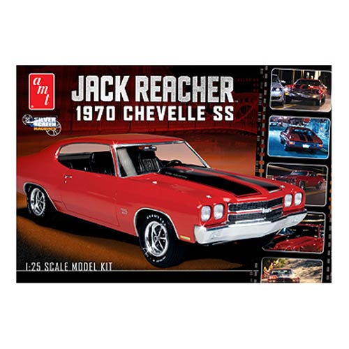 Jack Reacher 1970 Chevy Chevelle SS 1:25 Model Kit