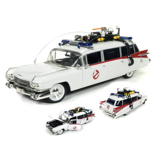 Ghostbuster 1959 Cadillac Ecto-1 1:18 Scale Die-Cast Vehicle