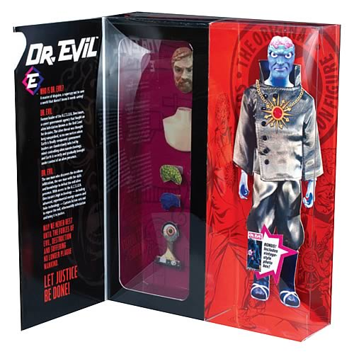 Captain Action Dr. Evil Deluxe Action Figure