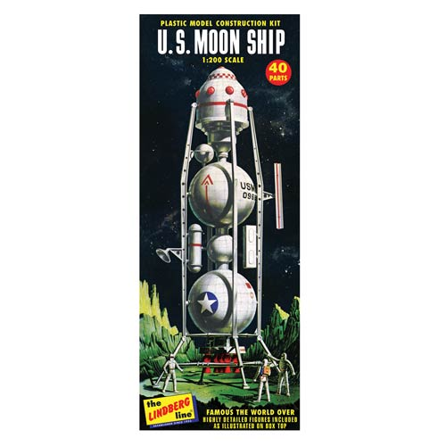 U.S. Moon Ship 1:200 Scale Model Kit