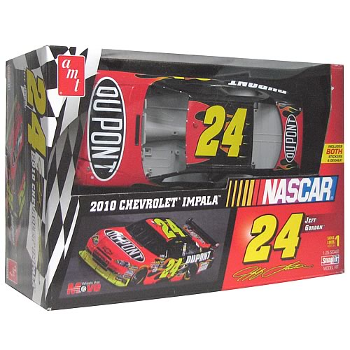 NASCAR Jeff Gordon #24 Snap Fit Model Kit
