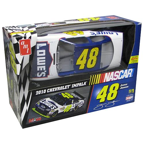 Nascar Jimmie Johnson #48 Snap Model Kit