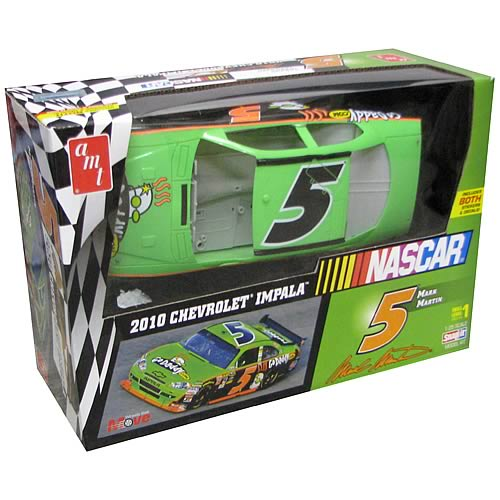 Nascar Mark Martin #5 Snap Model Kit