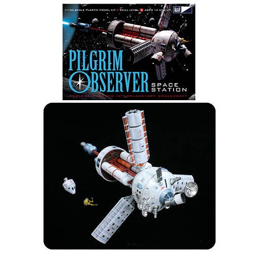 Pilgrim Observer Space Station 1:100 Scale Model Kit