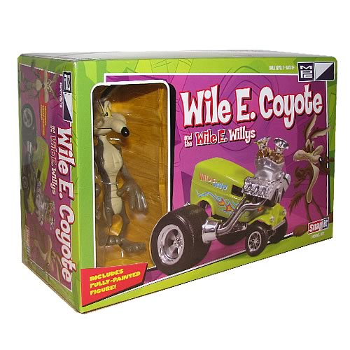 Looney Tunes Wile E. Coyote & Wile E. Wonder Vehicle Kits