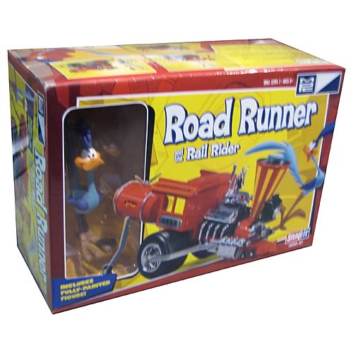 Looney Tunes Road Runner and Rail Rider Vehicle Model Kit