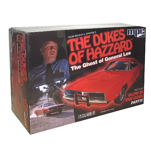 Dukes of Hazzard Ghost General Lee Charger Glow Model Kit