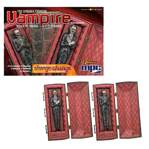 Strange Changing Vampire 1:12 Scale Model Kit