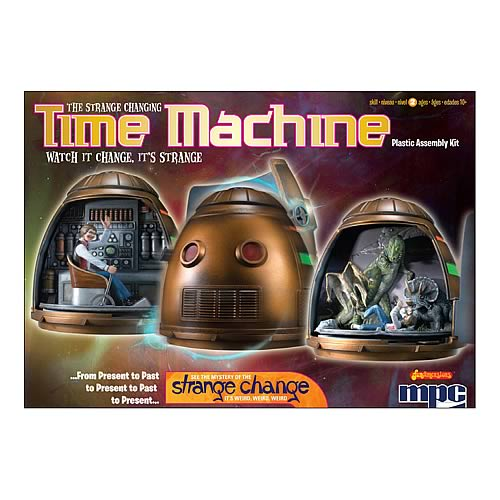 Strange Change Toy : Strange change time machine model kit round