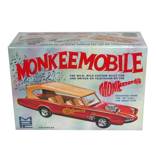 Monkees Monkeemobile TV Car Model Kit