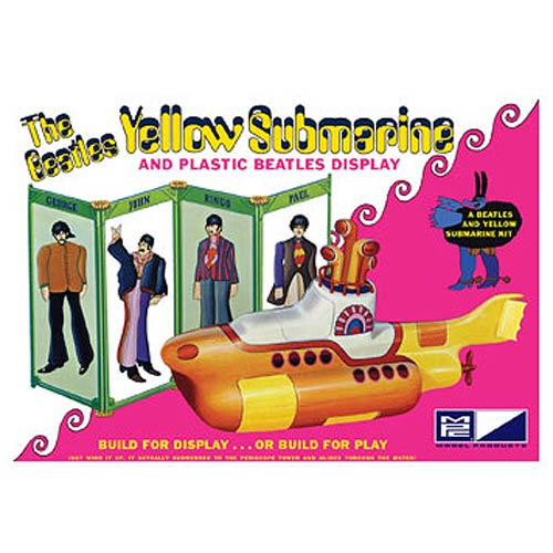 The Beatles Yellow Submarine 1:12 Scale Model Kit