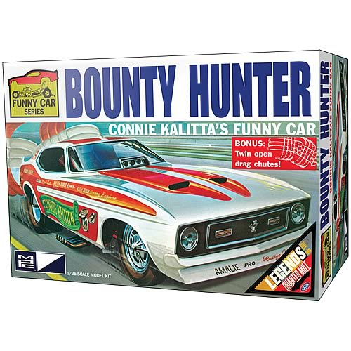 1972 Mustang Bounty Hunter Funny Car 1:25 Scale Model Kit