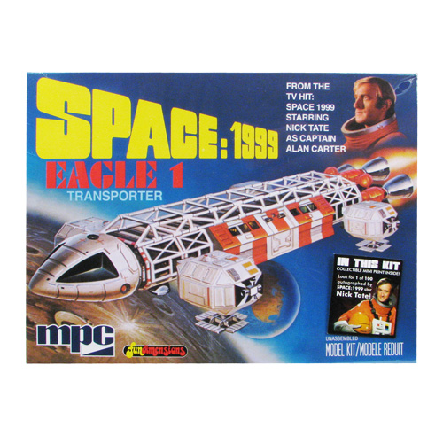 Space 1999 Eagle 1 Transporter 1:72 Scale Model Kit