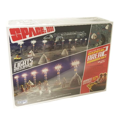 Space: 1999 Nuclear Waste Area 2 Diorama with Moon Buddy Model Kit