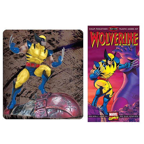 Wolverine vs. Sentinel 1:8 Scale Snap-Fit Model Kit
